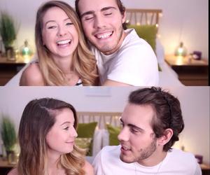 adorable, couple, and zoella image