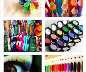 colourful, colours, and guitar image