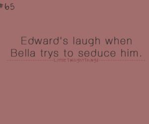 bella, edward, and movie image