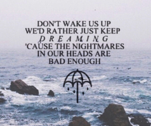 background, bmth, and Lyrics image