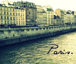 buildings, cross, and paris image