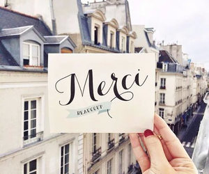 paris, france, and merci image