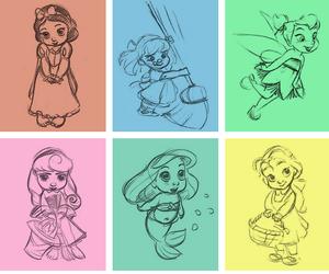 anna, belle, and jasmine image