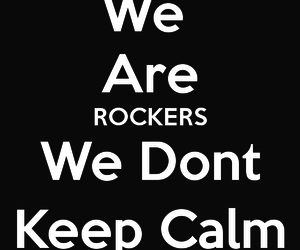 keep calm and rock image