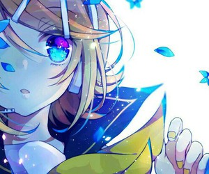 vocaloid, anime girl, and kagamine rin image