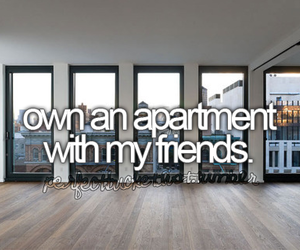 friends, apartment, and before i die image