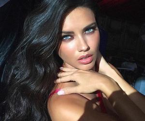 Adriana Lima, angel, and blue eyes image