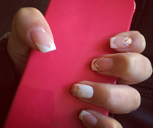 beauty, iphone, and manicure image