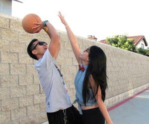 couple, love, and Basketball image