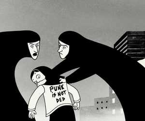 persepolis, punk, and movie image
