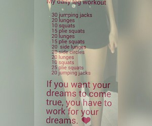 legs, health, and workout image