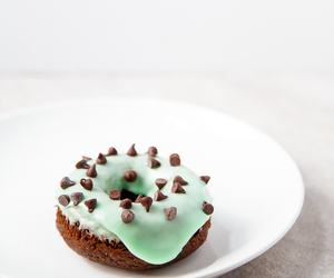 chocolate, donuts, and food image