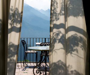 view, balcony, and mountains image