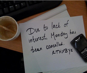 monday, blackberry, and cancelled image