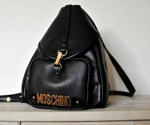 bag, Moschino, and black image