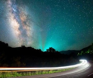 blue, milkyway, and photo image