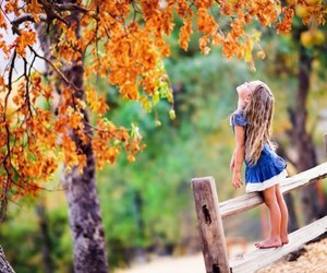 autumn, girl, and pretty image