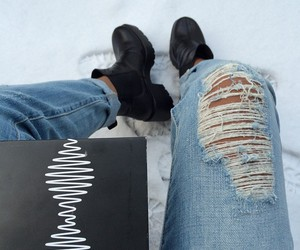 arctic monkeys, black, and boots image