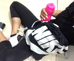 fitness, girl, and girls image