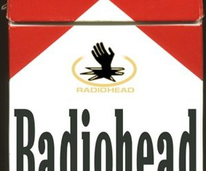 cigarette, radiohead, and music image