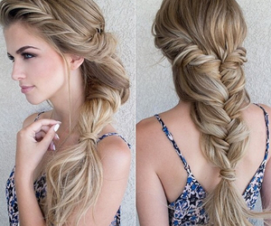 blonde, hair style, and wedding image