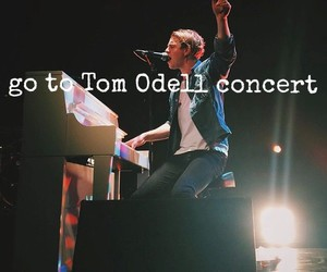 bucket list and tom odell image