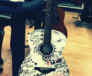 music, guitar, and art image