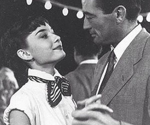 audrey hepburn and gregory peck image