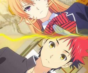 anime, SoMa, and shokugeki no soma image
