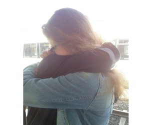 best friend, finally, and hug image