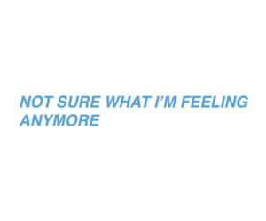 blue, feeling, and tumblr image