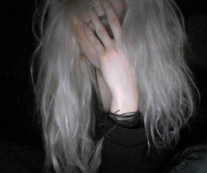 grunge, pale, and hair image