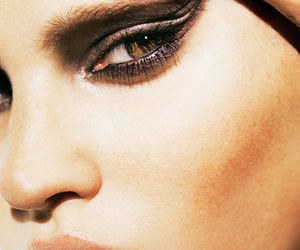 makeup, Lara Stone, and face image