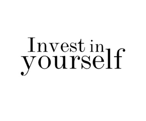 quotes, invest, and yourself image