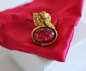 ring, fashion, and YSL image