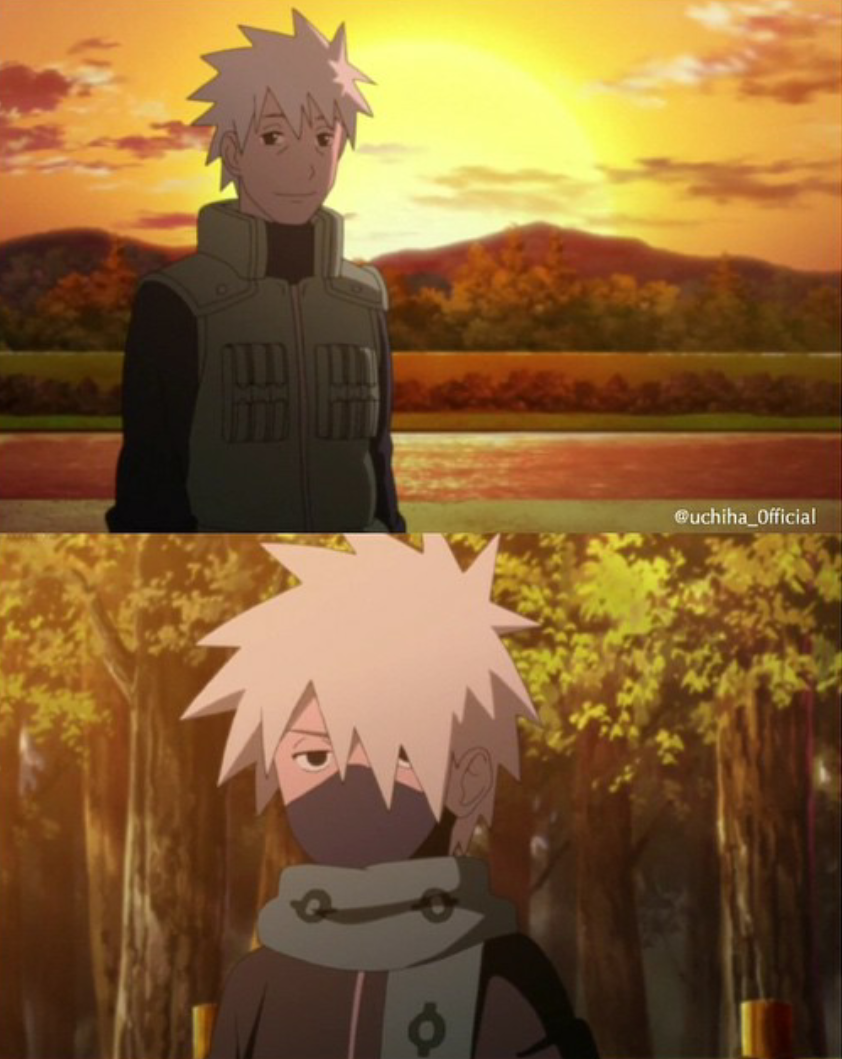 Kakashi and his Father discovered by R on We Heart It