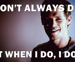 the vampire diaries, klaus, and The Originals image