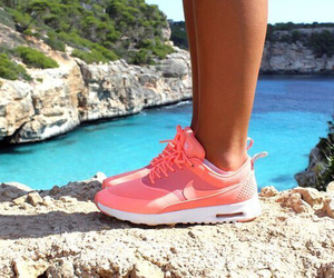 nike, cool, and shoes image