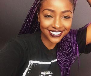 braids, black fashion, and melanin image