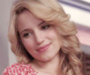 glee, dianna agron, and quinn fabray image