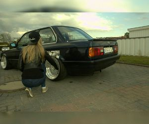 blonde, bmw, and deep image