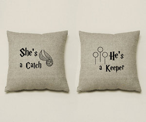 harry potter, lovely, and pillows image