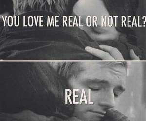 katniss, real, and peeta image
