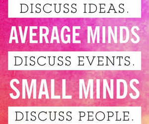 quote, minds, and inspirational image