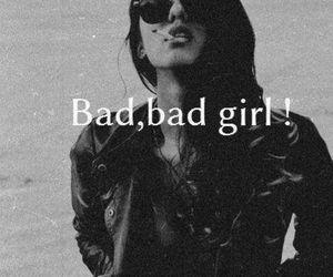 attitude, bad girl, and good girl image