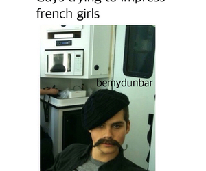 french, funny, and lol image
