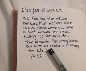journal, pale, and poem image