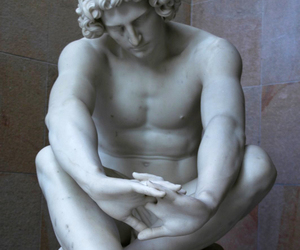 art, marble, and sculpture image
