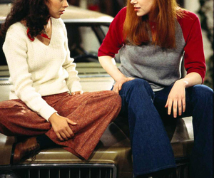 that 70s show, Mila Kunis, and laura prepon image