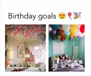 birthday, goals, and party image